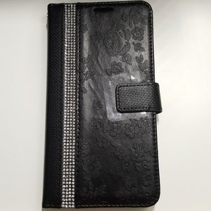 """Wallet case for iphone XR 6.1"""" color black new"""